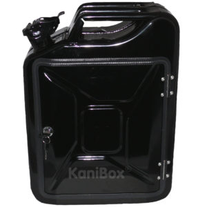 20 Liter KaniBox FrontDoor schwarz
