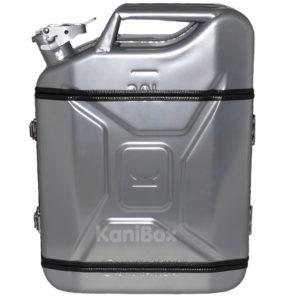 silberne KaniBox FullFront
