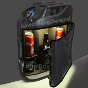 Benzinkanister MiniBar mit Beleuchtung