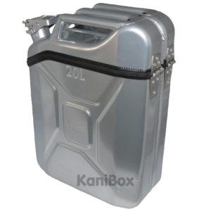 KaniBox Top silberfarbig silber