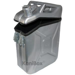 Outdoor Staubox aus einem Kanister