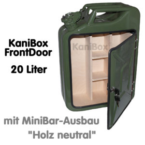 20er FrontDoor MiniBar-Ausbau Holz neutral