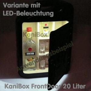 20er FrontDoor mit LED-Beleuchtung