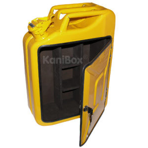 Jerrycan Whiskey Bar yellow