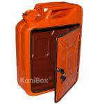 orangefarbene KaniBox FrontDoor