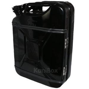 schwarze 20 Liter KaniBox FullFront