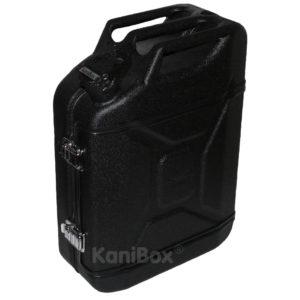 KaniBox FullFront Schwarz mit Strukturoberfläche