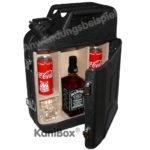 Jacky Cola Kanister Bar für Mixgetränke