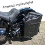 Kanister Seitenkoffer Harley-Davidson