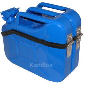 blaue Kanister Staubox RAL 5005