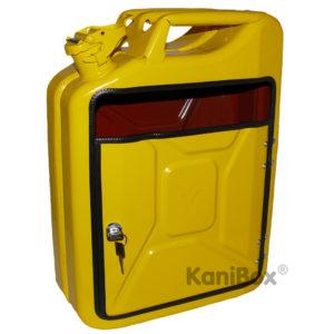 KaniBox Briefkasten in Gelb