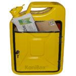 gelber Briefkasten 20 Liter Kanister