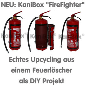 KaniBox FireFighter Upcycling DIY Projekt