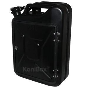 20 Liter KaniBox Schwarz matt