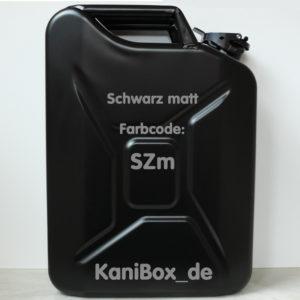 SZm Schwarz matt KaniBox