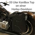 Harley-Davidson Seitenkoffer schwarz matt