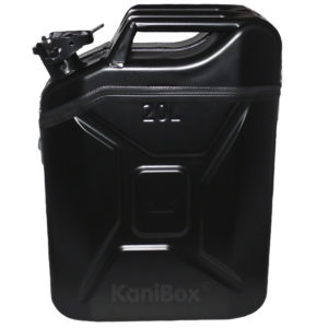20 Liter KaniBox in Schwarz matt
