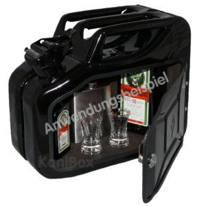BarKanister schwarz 10 Liter Benzinkanister