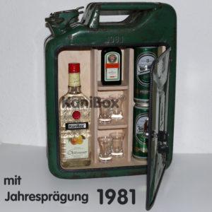 Unikat Kanister-Bar von 1981