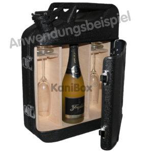Kanister-Bar für Wein und Sekt