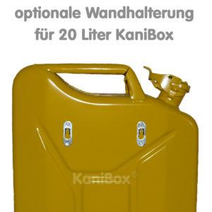 Wandhalterung für 20er KaniBox