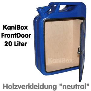 20er FrontDoor mit Holzverkleidung neutral