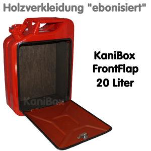 20er FrontFlap mit Holzverkleidung ebonisiert