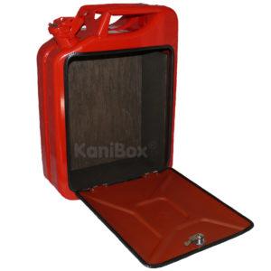 rote KaniBox zum do it yourself Ausbau