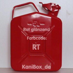 RT Rot glänzend 5 Liter