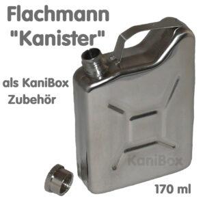 Flachmann Kanister