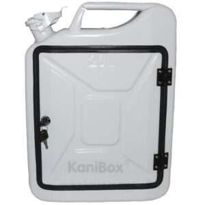 white fuel can by KaniBox