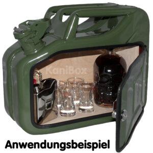 10 Liter Ersatzkanister Minibar Kräuterlikör