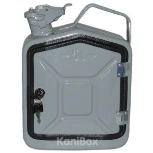 graue 5 Liter KaniBox FrontDoor
