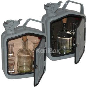 graue KaniBox 5 Liter MiniBar