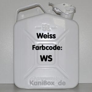 WS weiss glänzend 5 Liter