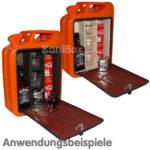 BarKanister Umbau in orange als Geschenkidee