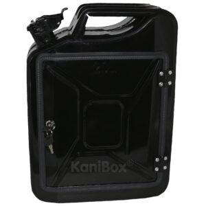 schwarze 20 Liter KaniBox FrontDoor