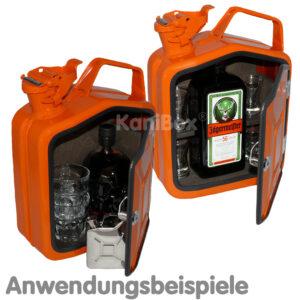 Retro Jägermeister Vintage Flasche