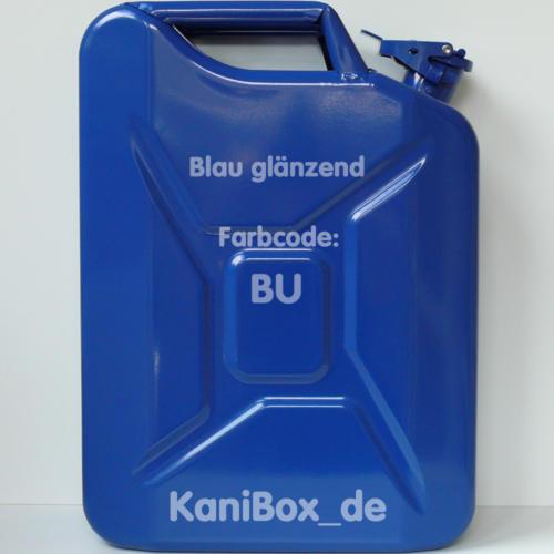 BU Blau glänzend KaniBox