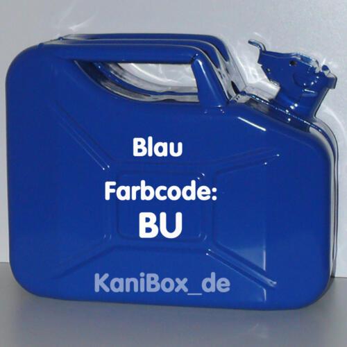 BU Blau glänzend 10 Liter