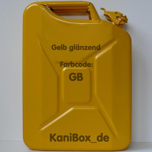 GB Gelb glänzend KaniBox