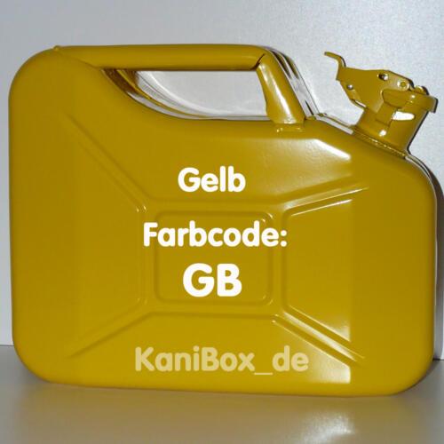 GB Gelb glänzend 10 Liter