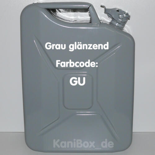 GU Grau glänzend KaniBox