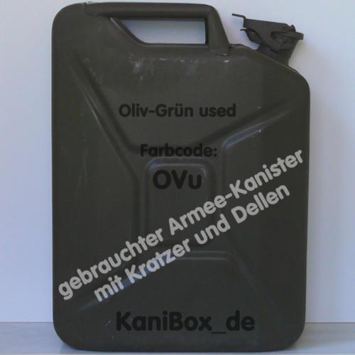 OVu Olivgrün gebraucht KaniBox