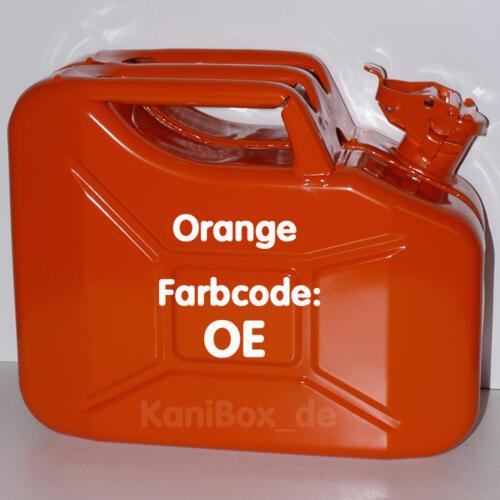 OE Orange glänzend 10 Liter
