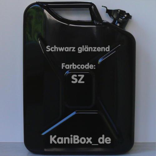 SZ Schwarz glänzend KaniBox
