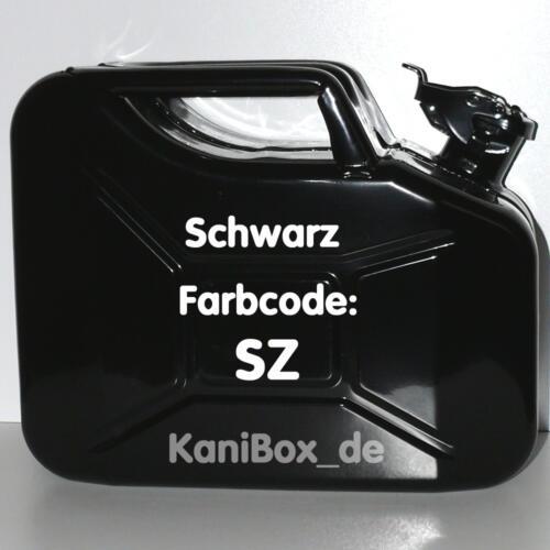SZ Schwarz glänzend 10 Liter