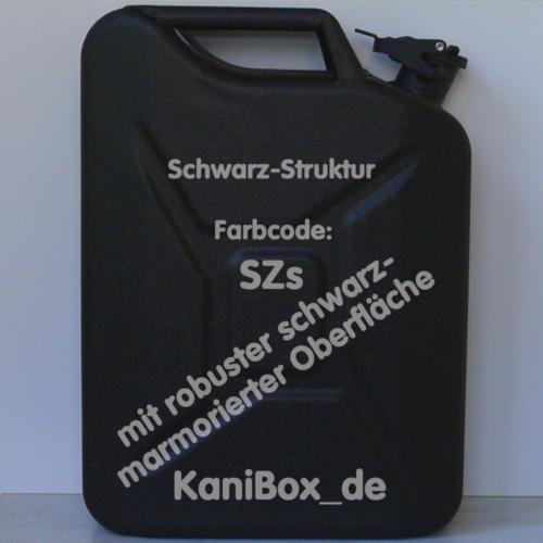 SZs Schwarz mit Struktur KaniBox