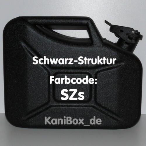 SZs Schwarz Struktur 10 Liter