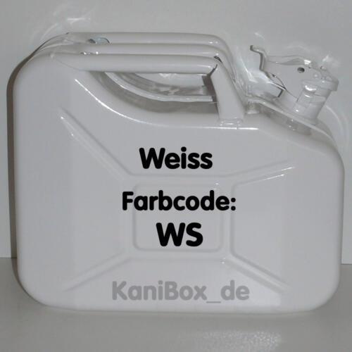 WS Weiss glänzend 10 Liter